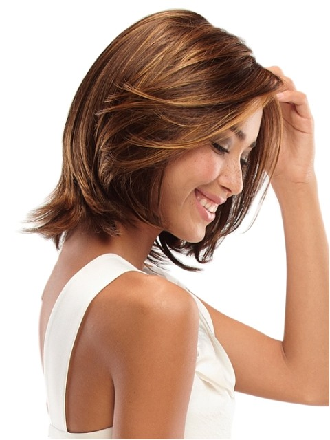 layered hairstyles medium length hair
