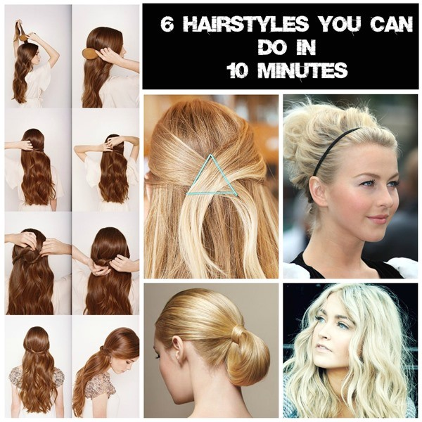 6 easy hairstyles mums go