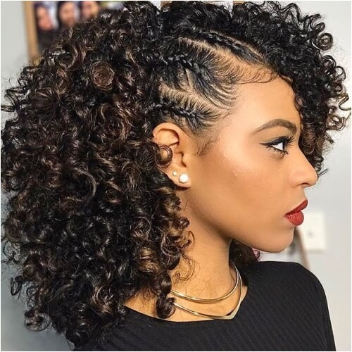 easy cute hairstyles for naturally curly hair