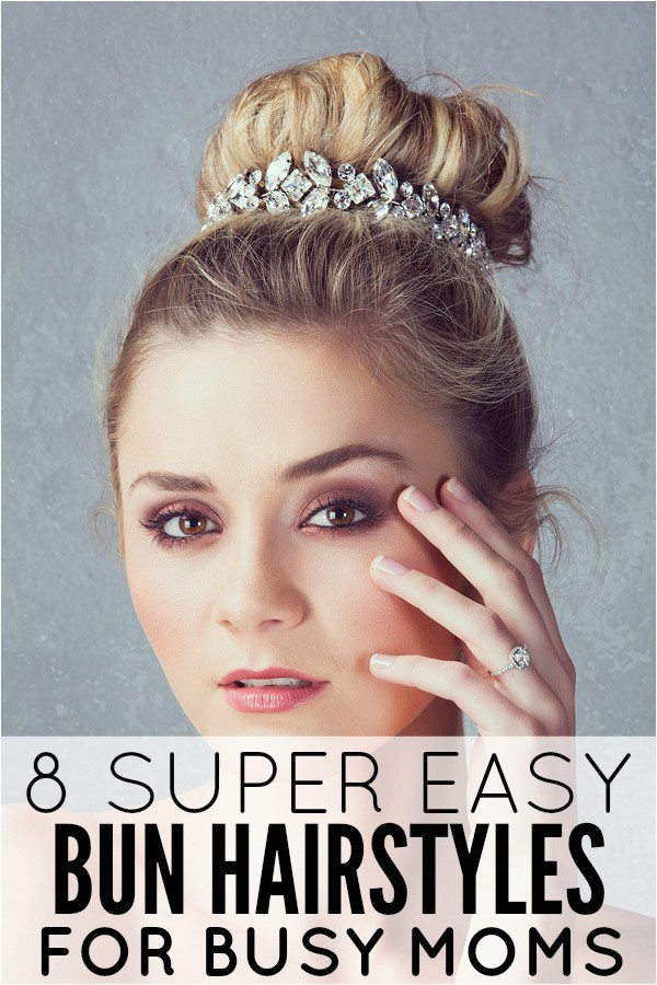 easy hairstyles for moms photo