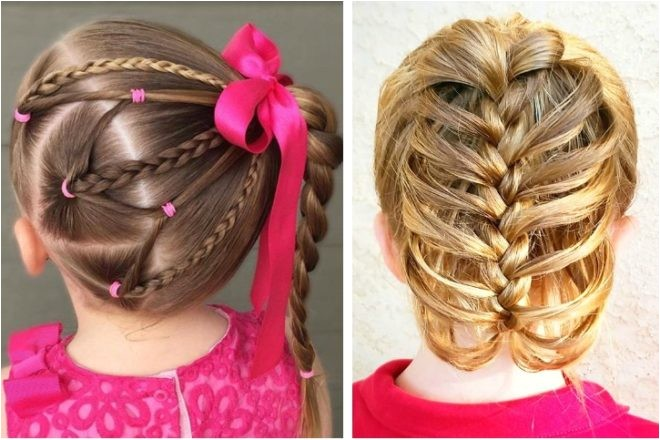 adorable easy braid hairstyles girls