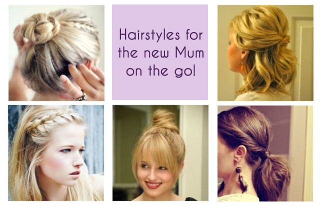 Easy Hairstyles for New Mums Quick Hairstyles for Working Moms Hairstyles