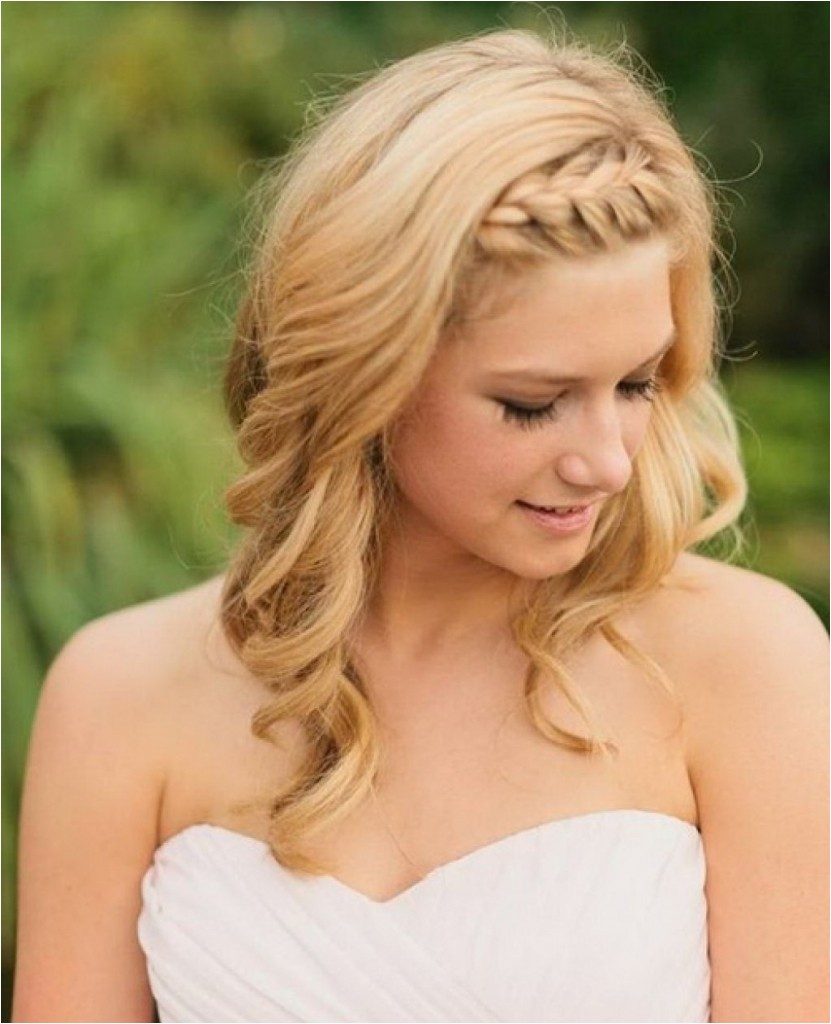 medium hairstyles for a party