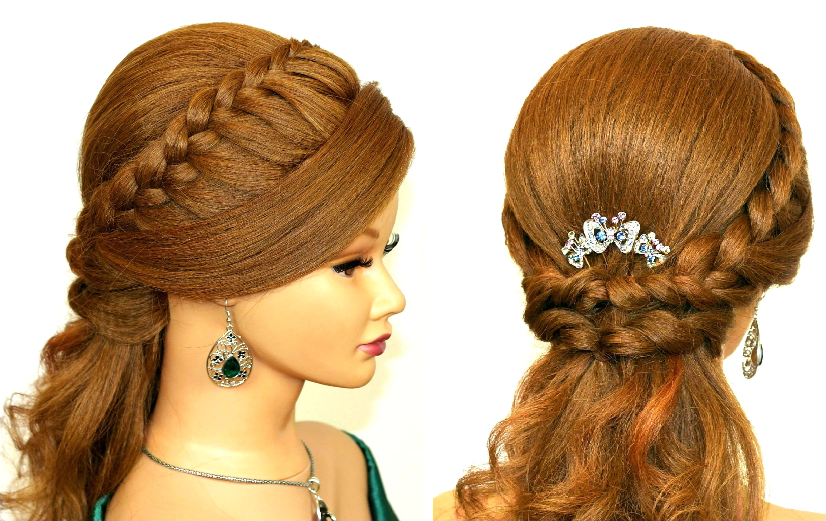 easy hairstyles for prom