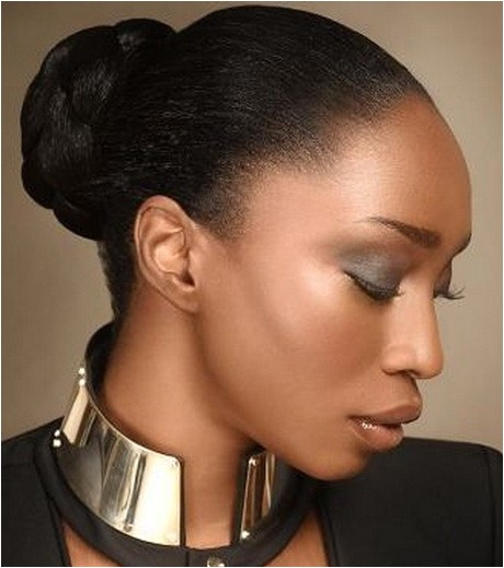 bun hairstyles for black women
