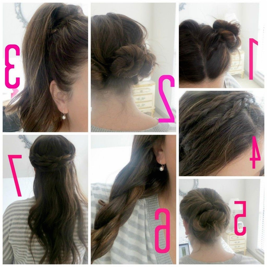 simple girl hairstyles for school