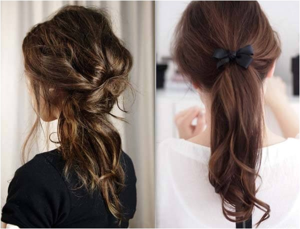 collection of easy hairstyles for school