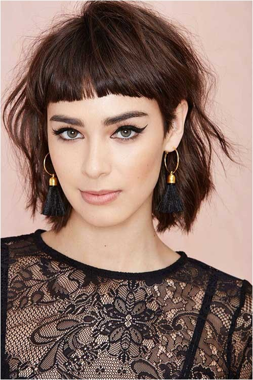 Easy Hairstyles for Short Hair with Bangs Cute Easy Hairstyle You Can Make 2018 Best Hairstyles Trend