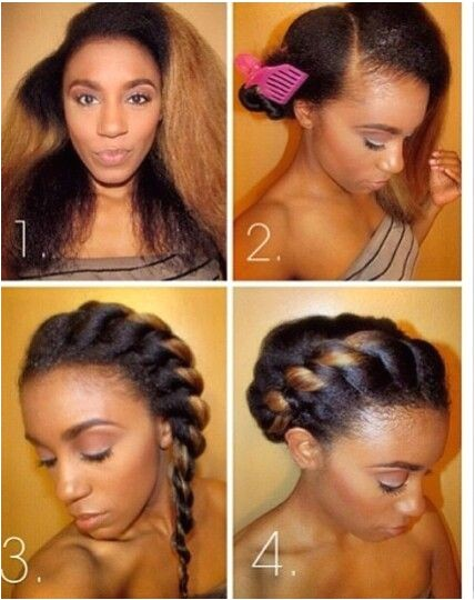 easy hairstyles for permed hair