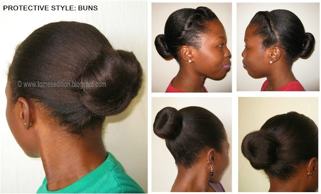 protective styles for relaxed texlaxed