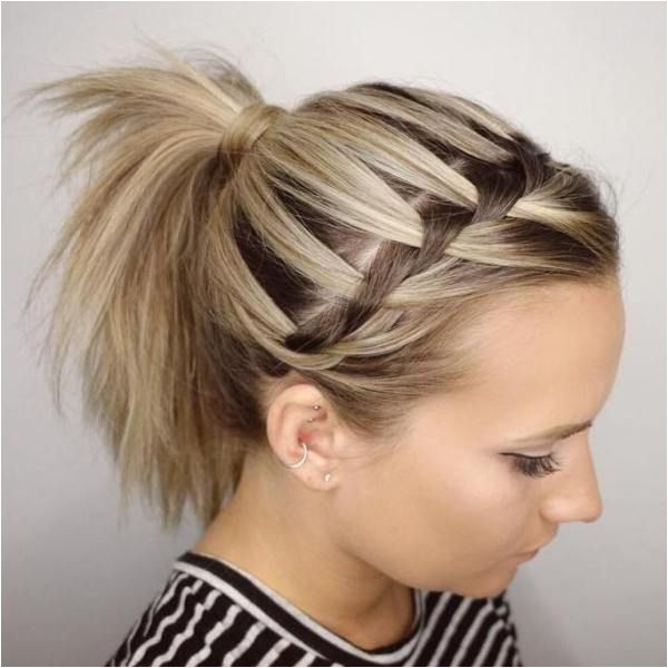 daily hairstyles for sporty hairstyles for short hair best ideas about sport hairstyles on pinterest softball hair