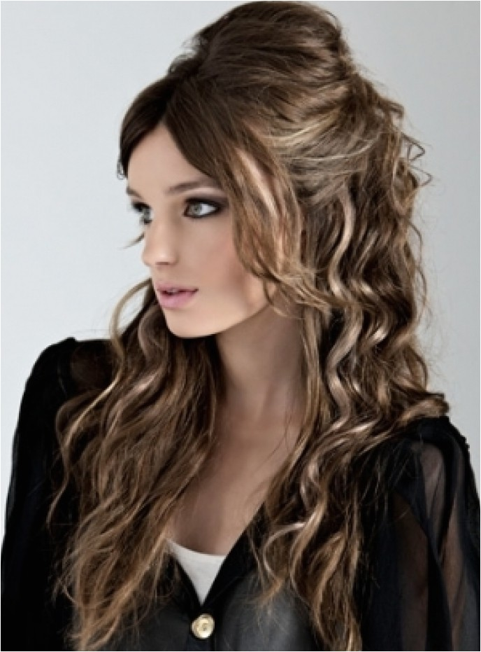 easy curly hairstyles to do at home