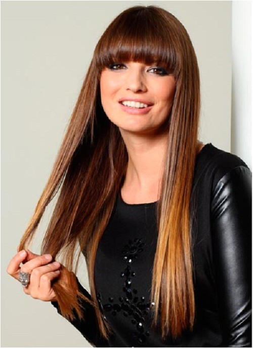 Easy Hairstyles for Straight Hair with Bangs Easy Hairstyles for Straight Hair