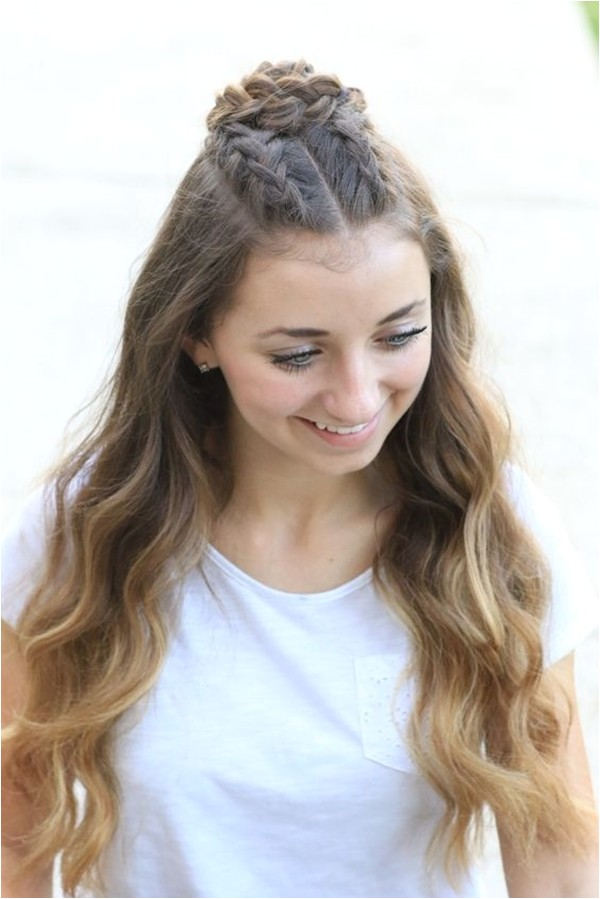 Easy Hairstyles for Teenagers 40 Cute Hairstyles for Teen Girls