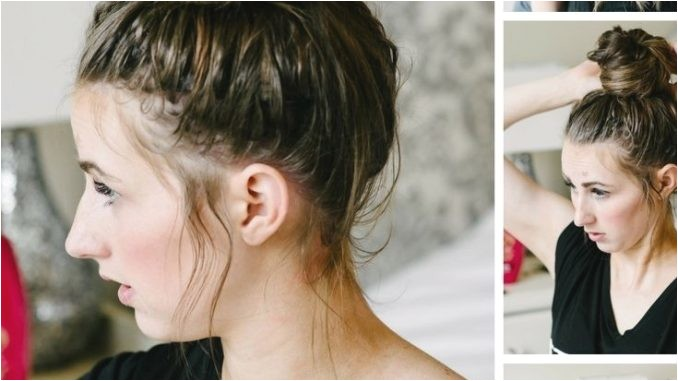 easy hairstyles for the pool