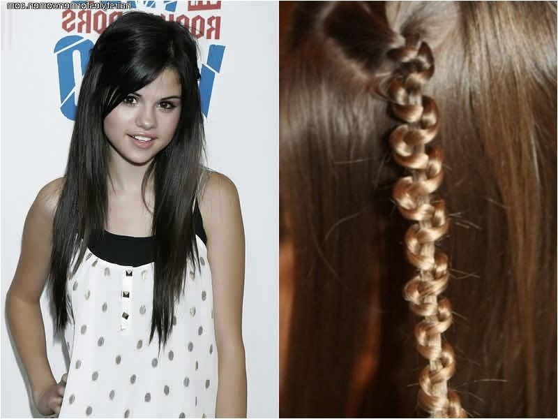easy hairstyles for long thick hair school