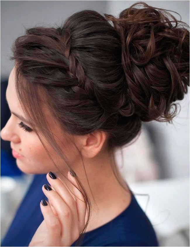 easy party hairstyles for long thick hair