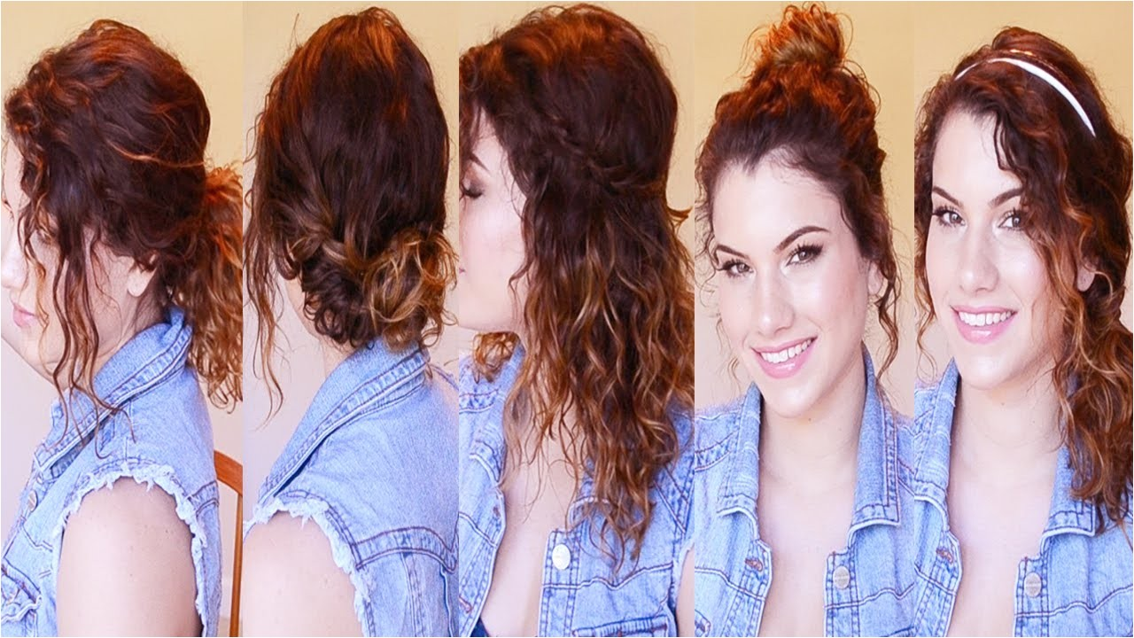 for school quick easy hairstyles wavy hair image