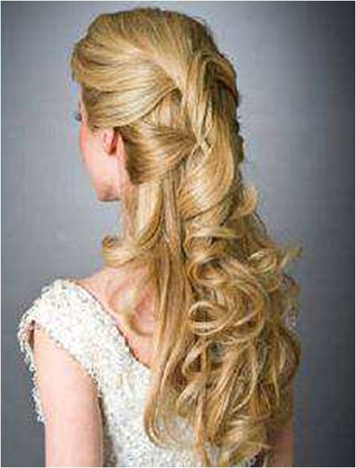 easy wedding hairstyles for long hair 2013