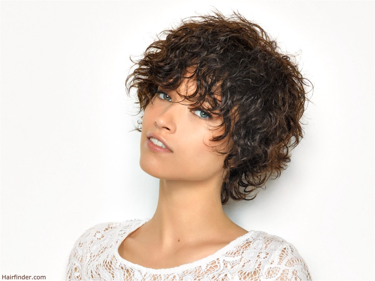 hairstyles for short wet curly hair