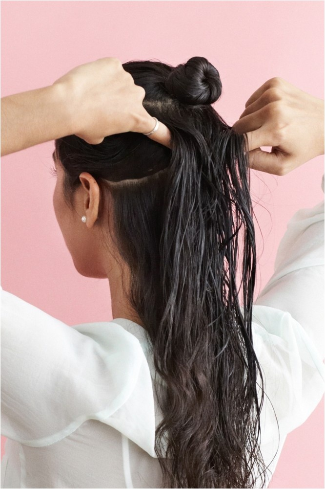 hairstyles for wet hair overnight