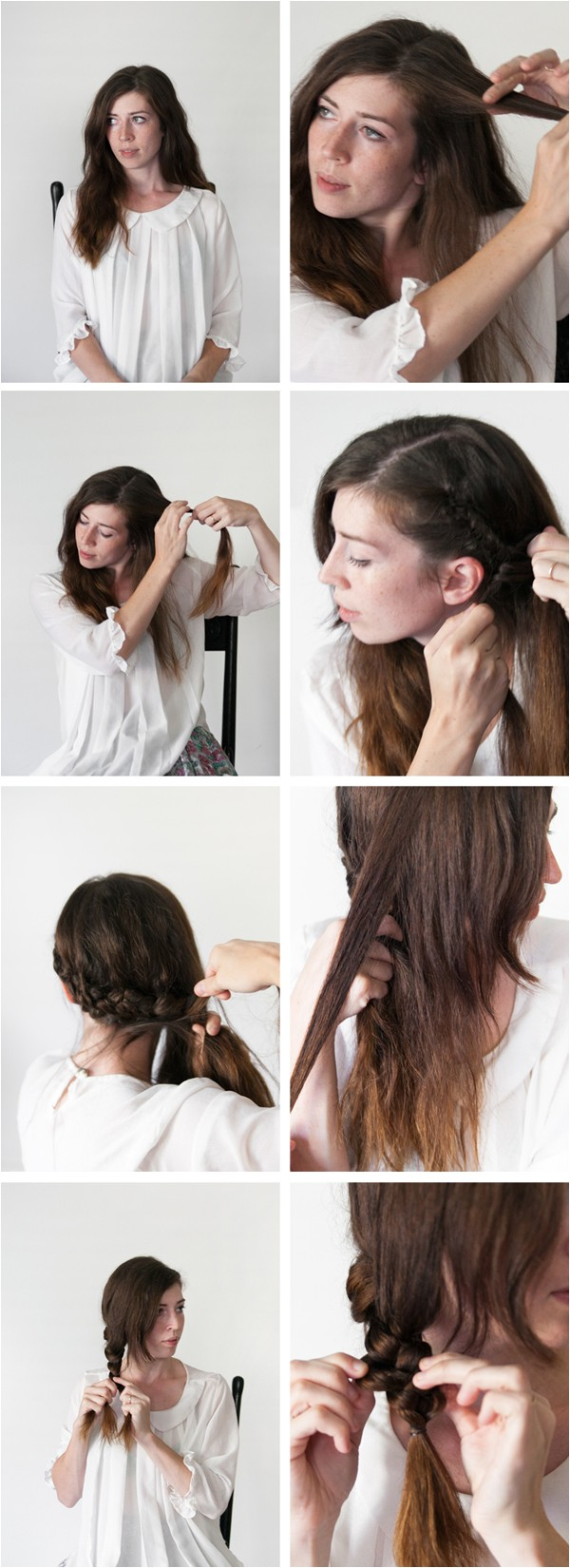 overnight hairstyles for long wet hair