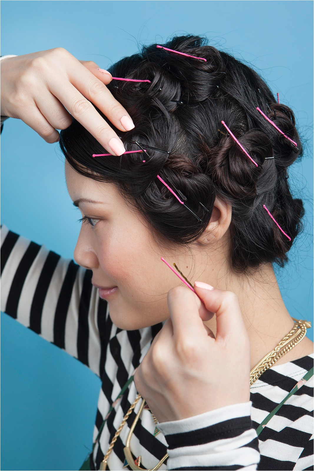 Easy Hairstyles for Wet Hair Overnight 1