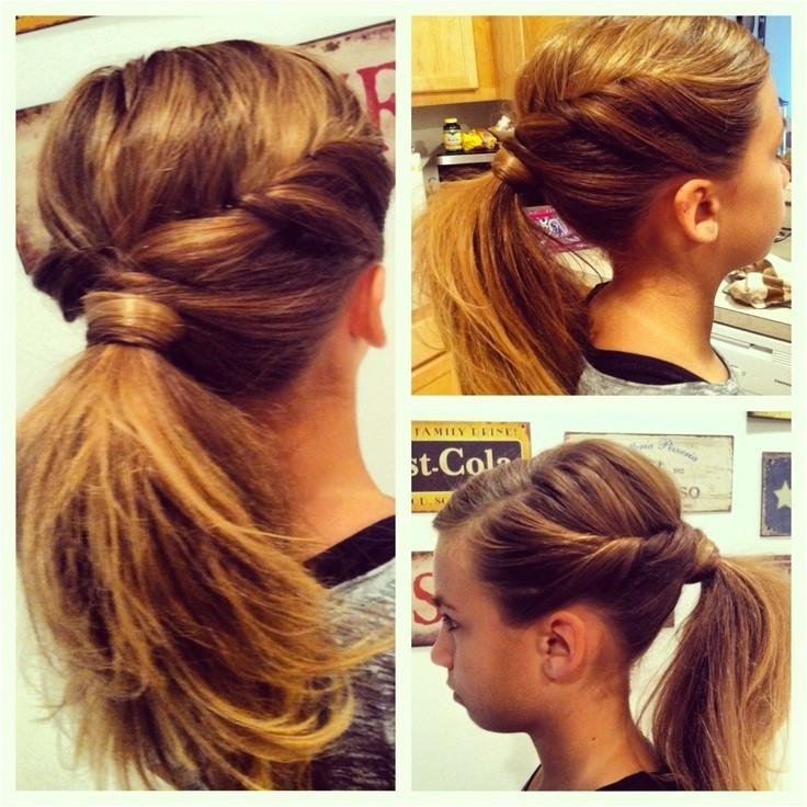 cute ponytail ideas