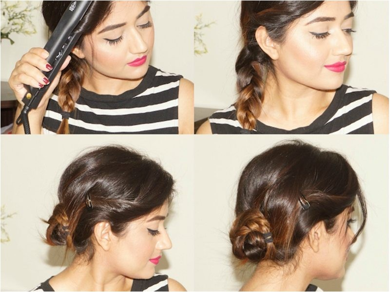 corallista shows us her easy morning to evening hairstyles