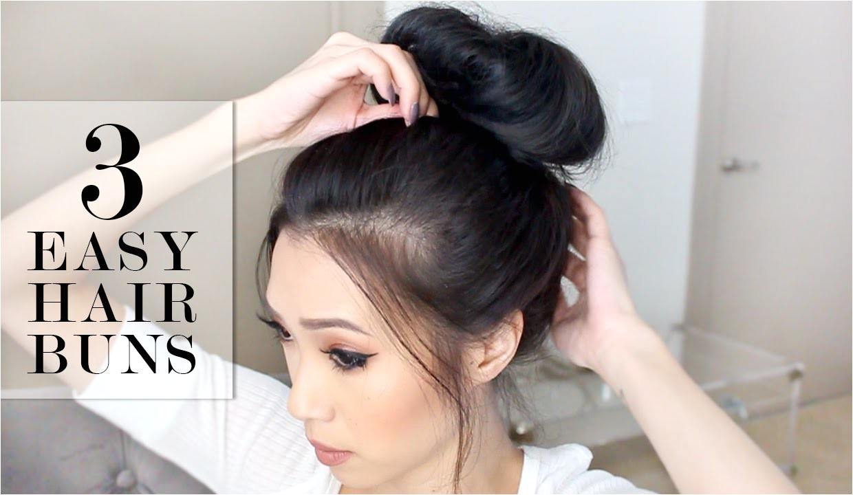 fabulous bun hairstyles for all
