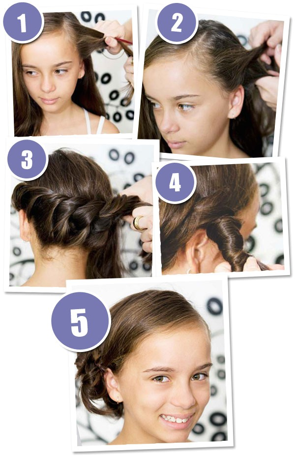 3 quick and easy hairstyles your girl will love