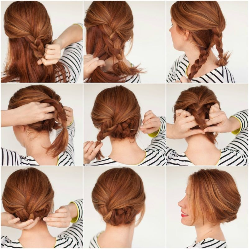 Easy Hairstyles that Look Complicated 1