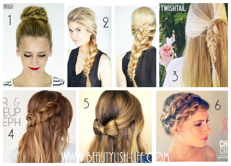 favorite back to school hairstyles easy