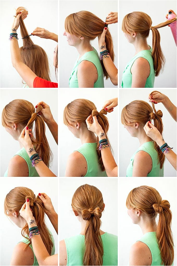 easy hairstyles to do on your own