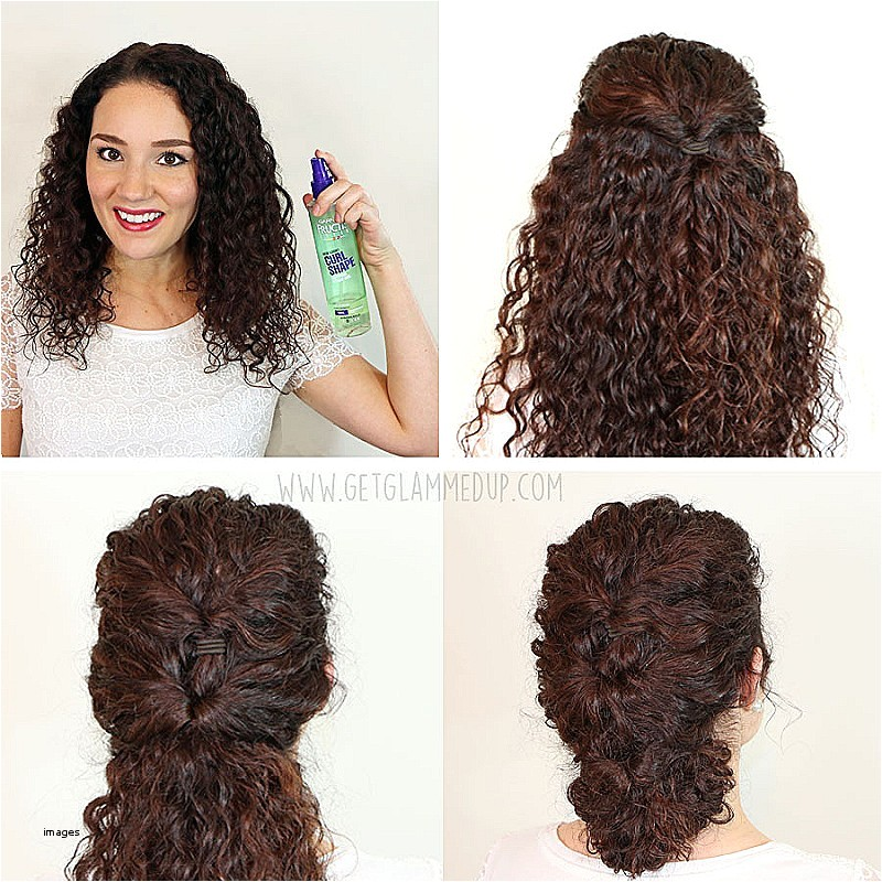 easy hairstyles for curly hair step by step inspirational 7 easy hairstyles for curly hair weekly change ups with garnier