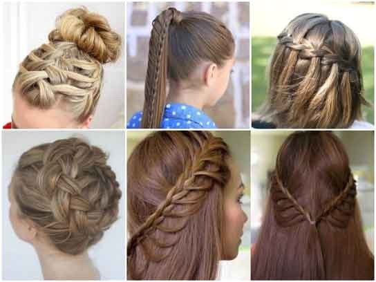 10 quick easy ideas make pretty hairstyle w