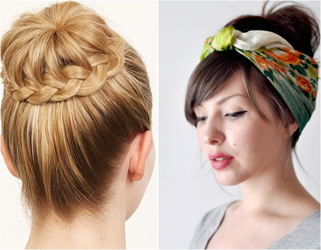 easy hairstyles for long hair to put up