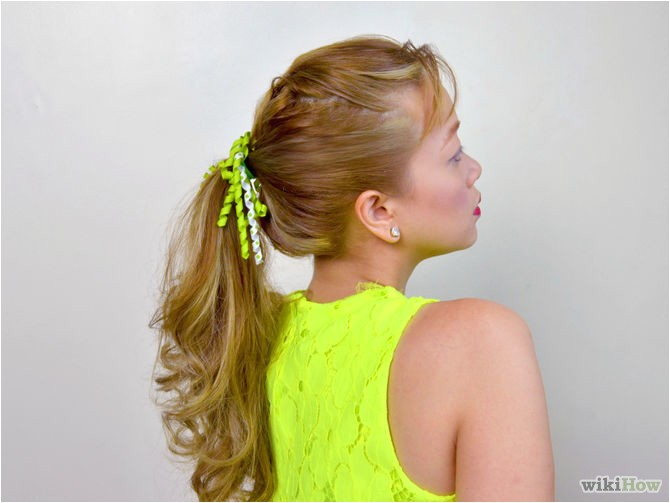 Easy Hairstyles Wikihow 4 Ways to Do Simple and Cute Hairstyles Wikihow