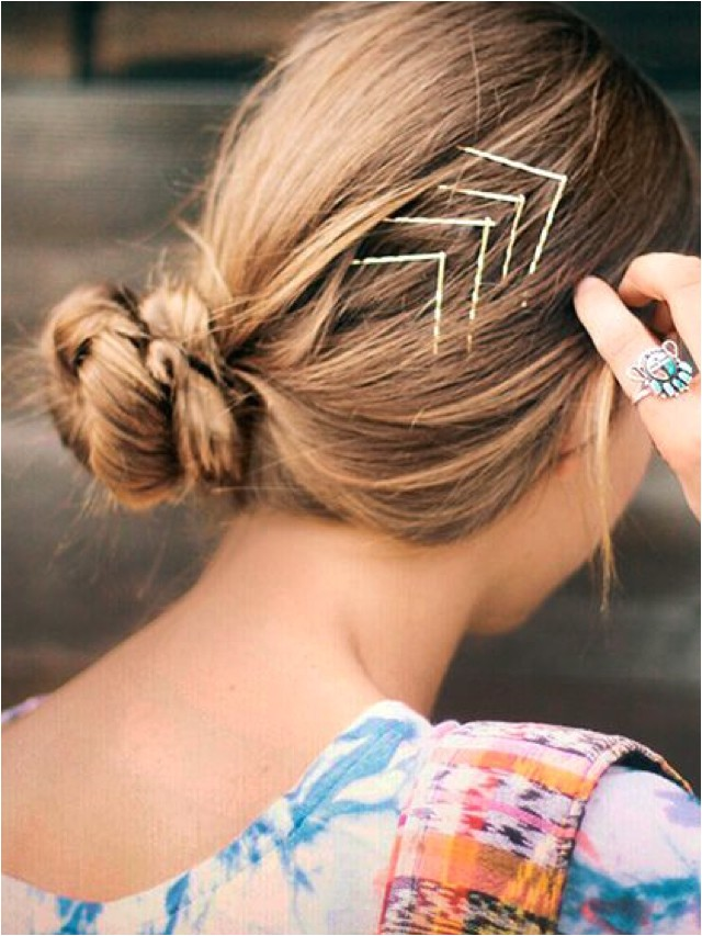 stylish hairstyles 20 bobby pins ideas
