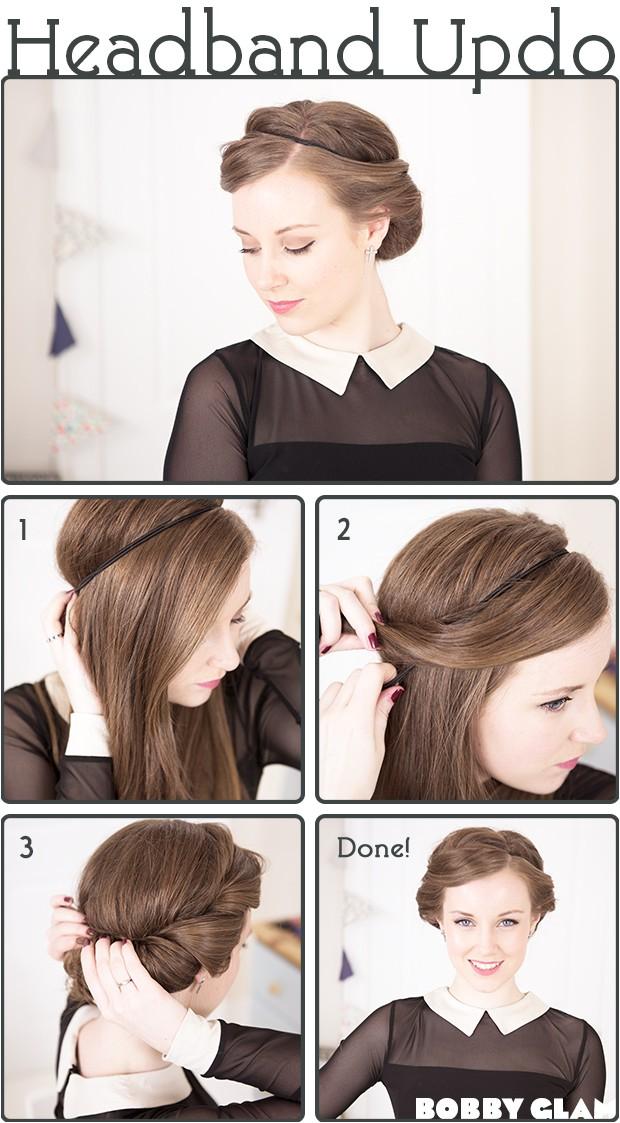 15 fancy up do tutorials