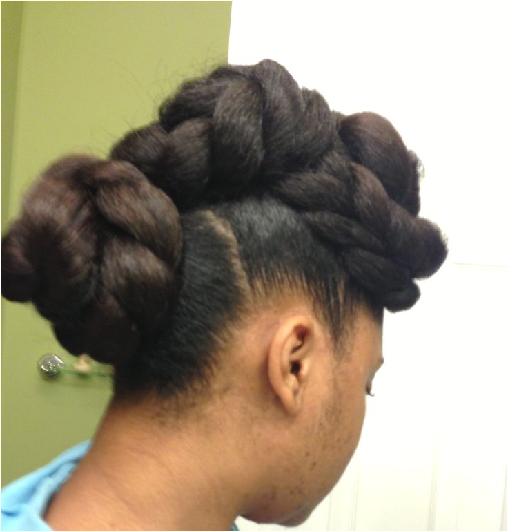 beauty natural hair braided styles