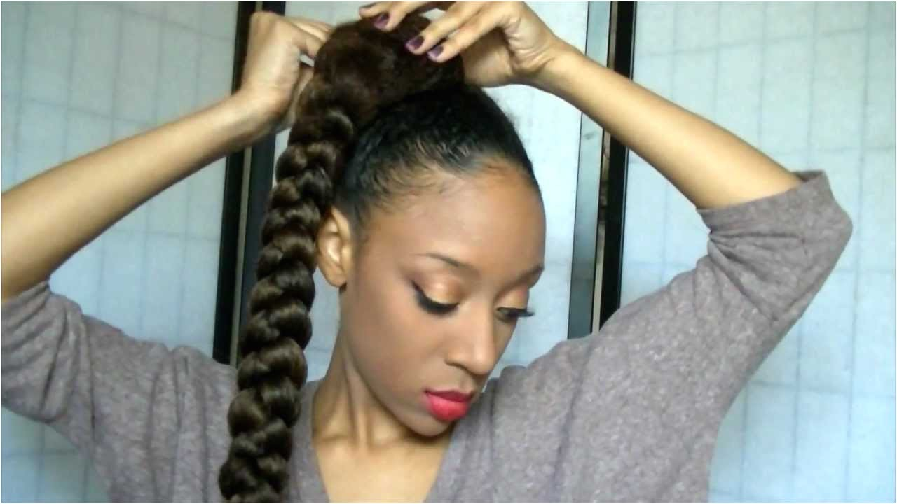 updo hairstyles with kanekalon hair 2