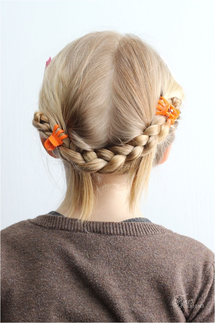 5 minute school day hair styles