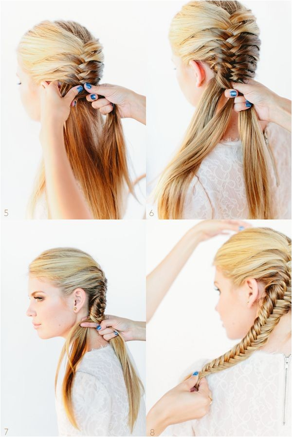 simple hairstyles for school step by step