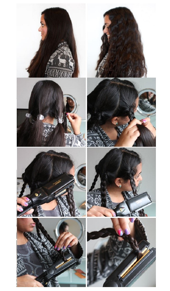 simple hairstyles that you can achieve with a flat iron