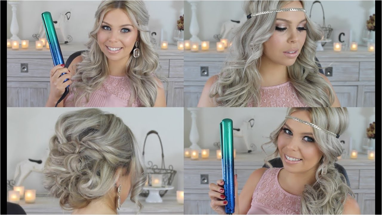 cute easy hairstyles to do with a straightener