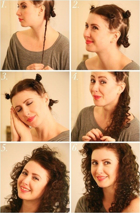 a great collection of 35 heatless hairstyle tutorials
