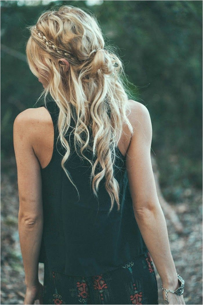 Easy Hippie Hairstyles 20 Boho Chic Hairstyles for Women Pretty Designs