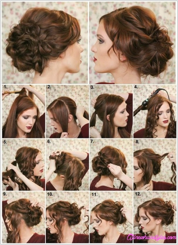 Easy Homecoming Hairstyles Do It Yourself Easy Do It Yourself Prom Hairstyles Allnewhairstyles