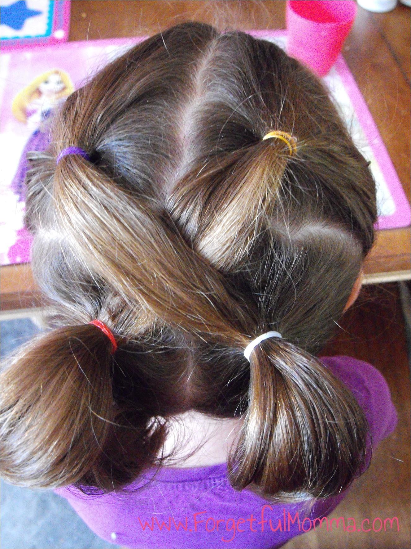 back school hair little girls